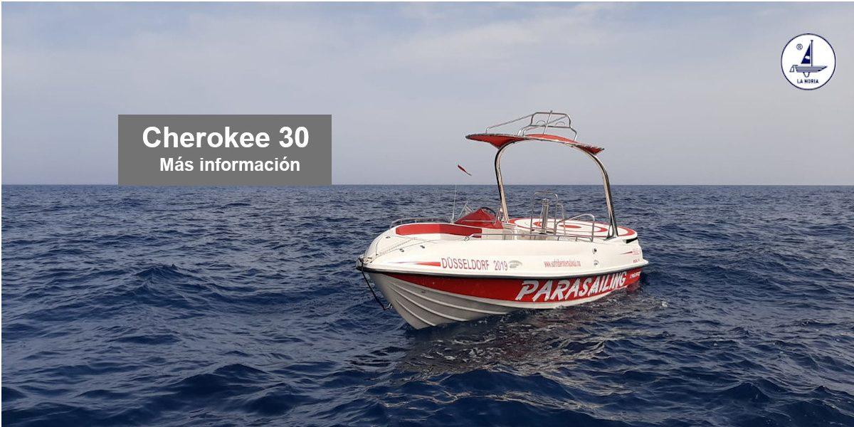 Cherokee 30 Barco Parasailing