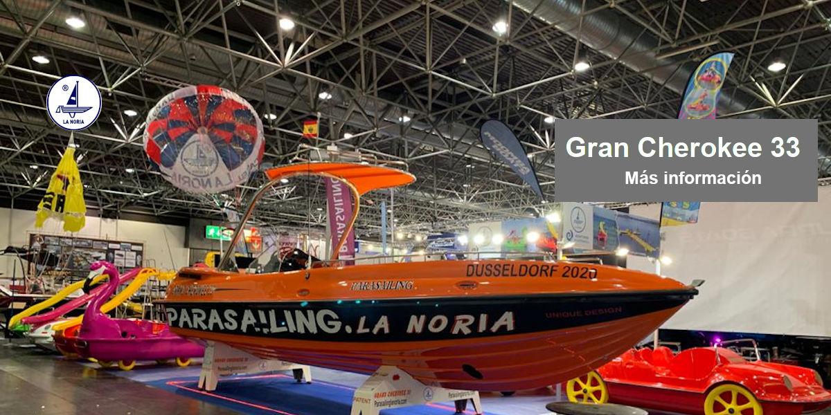 Nuevo Barco Parasailing Gran Cherokee 33